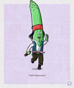 'Jack Asparagus'