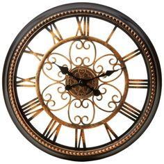 "Amazon.com - BrookwoodTM 20-1/2"" Round Wall Clock -"