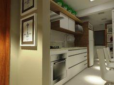 Cozinha - Apartamento Campo Bom - parceria com Arq. Maíra Costa
