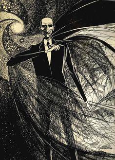 Carapace Clavicle Moundshroud from Ray Bradbury's The Halloween Tree Joseph Mugnaini