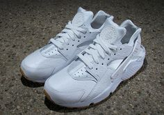 Nike Air Huarache Upgraded With Ostrich Leather and Gum Soles - SneakerNews.com