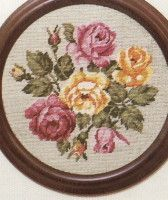 Gallery.ru / Фото #35 - Flowers - Mia68 Cross Stitch Rose, Cross Stitch Samplers, Cross Stitching, Cross Stitch Designs, Cross Stitch Patterns, Book Page Flowers, Flower Painting Canvas, Knitting Paterns, Hand Embroidery Videos