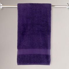 One of my favorite discoveries at WorldMarket.com: Mysterioso Purple Cotton Bath Towels