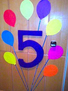 niespodzianka na 5 urodziny synka :)