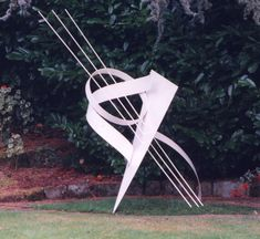 Steel Abstract Contemporary or Modern Outdoor Outside Exterior Garden / Yard sculptures statuary sculpture by sculptor Pete Moorhouse titled: 'Troubadour' Abstract Sculpture, Sculpture Art, Garden Sculpture, Outdoor Sculpture, Outdoor Art, Yard Sculptures, Statues For Sale, Steel Sculpture, Big Garden