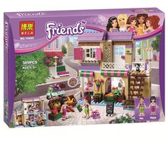 $29.99 (Buy here: https://alitems.com/g/1e8d114494ebda23ff8b16525dc3e8/?i=5&ulp=https%3A%2F%2Fwww.aliexpress.com%2Fitem%2F389pcs-BELA-Friend-Series-City-Food-Market-Building-Blocks-Friends-Minifigures-Bricks-Gift-Toys-Compatible-Legoelieds%2F32690851741.html ) 389pcs BELA Friend Series City Food Market Building Blocks Friends Minifigures Bricks Gift Toys Compatible Legoe 41108 for just $29.99