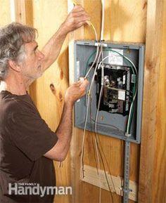 175 best shop wiring images on pinterest carpentry electrical rh pinterest com Wiring a Shop Building Wiring a Shop Building