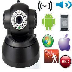 P2P Wireless IP Camera WiFi Security Surveillance System Night vision IR Webcam #YKS