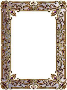 Frame Border Design, Page Borders Design, Antique Wall Decor, Antique Frames, Free Frames, Borders And Frames, Diy Wool Felt, New Background Images, Vintage Photo Frames