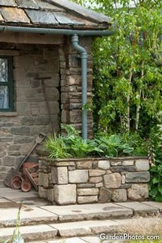 Garden Planter Downspout | Decorative Downspouts