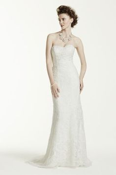 My New Favorite! www.davidsbridal.com/10233211