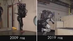 10 Years Of Progress In The Boston Dynamics Robotics Robot Videos, Advanced Robotics, Robotics Companies, Boston Dynamics, Cyberpunk City, Cool Gadgets To Buy, Diy Tech, Model Tanks, Satisfying Video