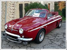 1958 Renault Dauphine Gordini cabriolet- Gerhaltitude – Insurance and Loans Lemon Car, Vintage Cars, Antique Cars, Renault Sport, Citroen Car, Auto Retro, Cabriolet, Car Car, Old Cars
