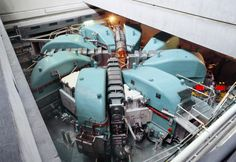 The proton accelerator at the Paul Scherrer Institute, which was used to create the muons used in this experiment. - Paul Scherrer Institute