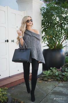 Модные луки от белокурой красотки Stephanie Danielle 18