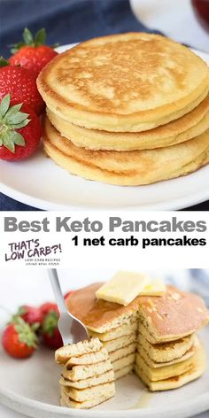 Healthy Food Recipes, Ketogenic Recipes, Ketogenic Diet, Low Carb Recipes, Diet Recipes, Pancake Recipes, Recipes Dinner, Dessert Recipes, Breakfast Recipes