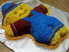 Fall Scarecrow Cake
