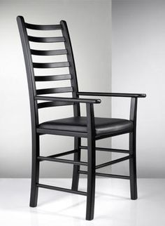 An elegant, tall chair rather slimmer than our traditional Chair.   Supplied in oiled or stained/painted beech