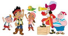 PNG Download: Pacote com 18 Imagens do Jake e os Piratas em PNG em alta definição