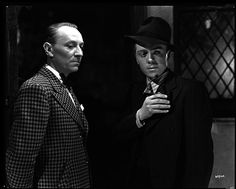 William Hartnell & Richard Attenborough in the 1947 film 'Brighton Rock' based on the 1938 novel by Graham Greene Hollywood Actor, Classic Hollywood, In Medias Res, Film Noir Photography, Ken Russell, Brighton Rock, Richard Attenborough, William Hartnell, Crime Film