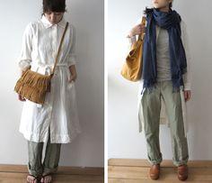 春服の重ね着コーディネイト | Mémo de Lisette