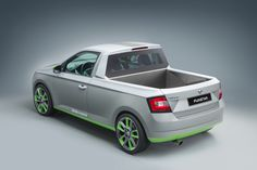 Skoda Fabia Pick-Up Concept From Wörthersee Looks FUN