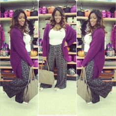Fall plus sized fashion 2013 black girl Fall Outfits, Cute Outfits, Fashion Outfits, Women's Fashion, Fashion 2018, Plus Size Fashion For Women, Plus Size Women, Plus Size Clothing Stores, Full Figure Fashion