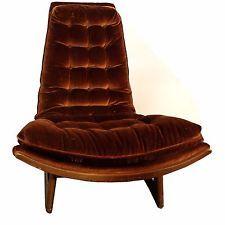 Mid Century Modern Adrian Pearsall Karpen Armless Chair