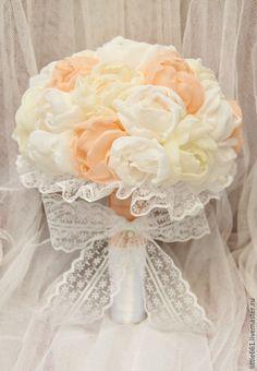 Купить Букет- дублер для невесты - разноцветный, букет дублер, дублер, букет невесты, свадебный букет
