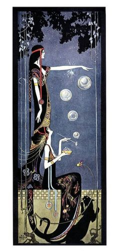 Nouveau Priestess - Mystics, seeing the spheres in the atmosphere is a sight to behold.