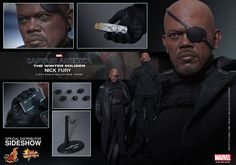 Marvel Comics Avengers Nick Fury Sixth-Scale Action Figure