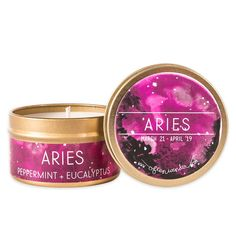 Aries Astrological Candle