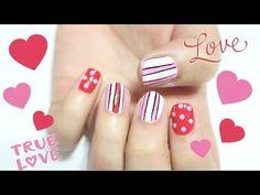♥ LAST MINUTE ♥ Valentine's Day Nails #nails #valentinesdaynails
