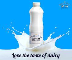 Love the taste of dairy fresh cow milk of Pride of Cows