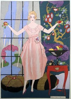 whisters: Is She Gonna Juggle Those? By Umberto Brunelleschi. | Art Deco | Bloglovin'