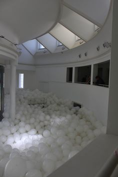 Make A Statement With Half the Air in a Given Space  - Martin Creed