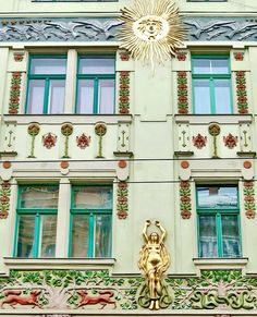 Hungarian Secession/Art Nouveau by elinor04 mostly off, via Flickr