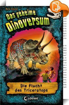 Das geheime Dinoversum 2 - Die Flucht des Triceratops    ::  Friedlich zieht die Triceratopsherde über die Ebene. Da greifen Termiten die mächtigen Pflanzenfresser an. Panisch läuft die Herde davon … und reißt Jan und Tim mit sich!  Willkommen im geheimen Dinoversum! Eine Kinderbuchreihe ab 7 Jahren mit spannenden Abenteuern und zahlreichen Illustrationen für alle Fans von Dinosauriern und Jurassic Park.