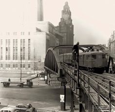 Overhead railway Liverpool Life, Liverpool Docks, Liverpool History, Old Pictures, Old Photos, Nostalgic Pictures, Uk History, Family History, Southport