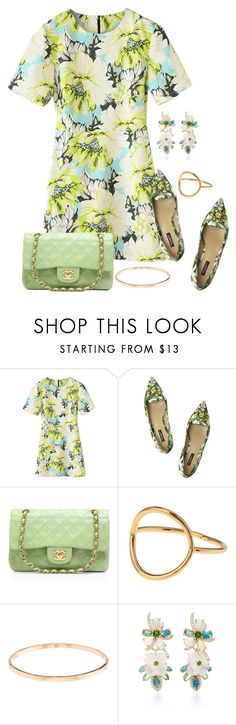 """""""Senza titolo #124"""" by martinavittoria ❤ liked on Polyvore featuring Dolce&Gabbana, Chanel, Lipsy and Eden Presley"""