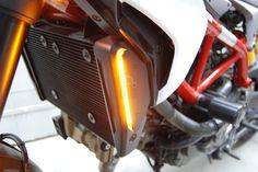 Ducati Hypermotard 821 / 939 Front LED Indicators - New Rage Motorcycles Inc - DESIGN CORSE - 2