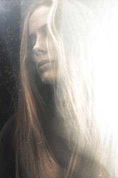 """California Dreaming""  Amy Lee (Factor Models Atlanta)  In-camera double exposure on expired Kodak film"