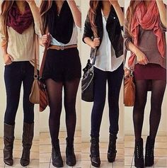 Love her style! She can pair everything with anything and it always looks amazing!♥ fashioncrush