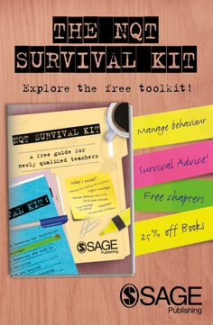 NQTs - are you looking for some extra advice or tips on managing behaviour? Or maybe inspiring writing? How about teaching literacy to pupils with dyslexia? Take a look at our free NQT Survival Kit and you'll find info on all of the above and more.