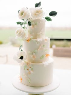 Inspired By This Lettuce Celebrate this Gorgeous Farm-to-Table Wedding Inspiration Pastel Wedding Cakes, Pastel Wedding Invitations, Pastel Wedding Colors, Creative Wedding Cakes, Wedding Table, Wedding Reception, Wedding Day, Celebrations Party Rentals, White Bridal