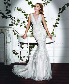 Demetrios Platinum Collection  // See more www.modernwedding.com.au