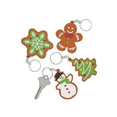 Holiday Cookie Keychains | $1.49 each