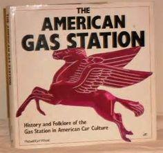 American gas station