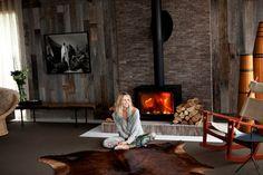 Elle Macphersons Cotswolds living room