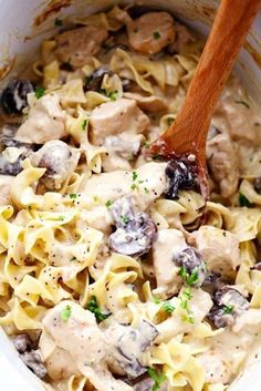 Slow Cooker Chicken and Mushroom Stroganoff takes just minutes to throw in the slow cooker! It is so creamy and delicious and will become an instant family favorite! Ingredients 4 boneless skinless…